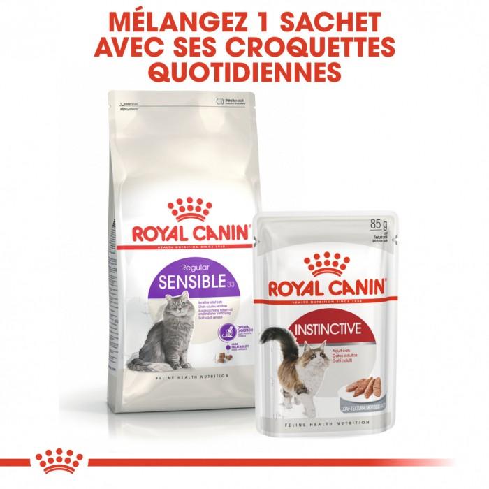 Alimentation pour chat - Royal Canin Sensible 33 pour chats