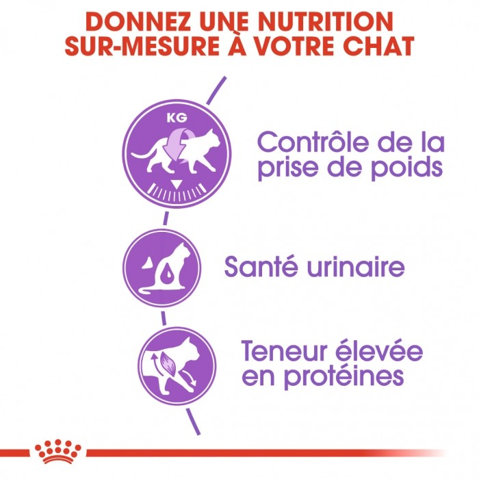 Alimentation pour chat - Royal Canin Sterilised 37 pour chats