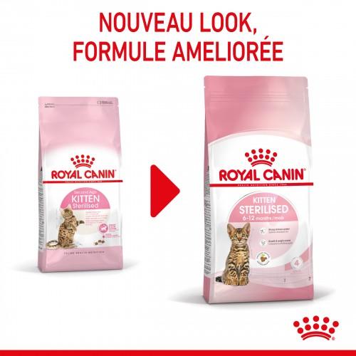 Alimentation pour chat - Royal Canin Kitten Sterilised pour chats