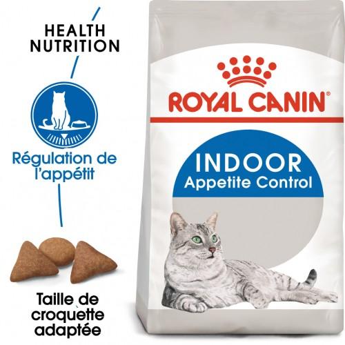 Alimentation pour chat - Royal Canin Indoor Appetite Control pour chats