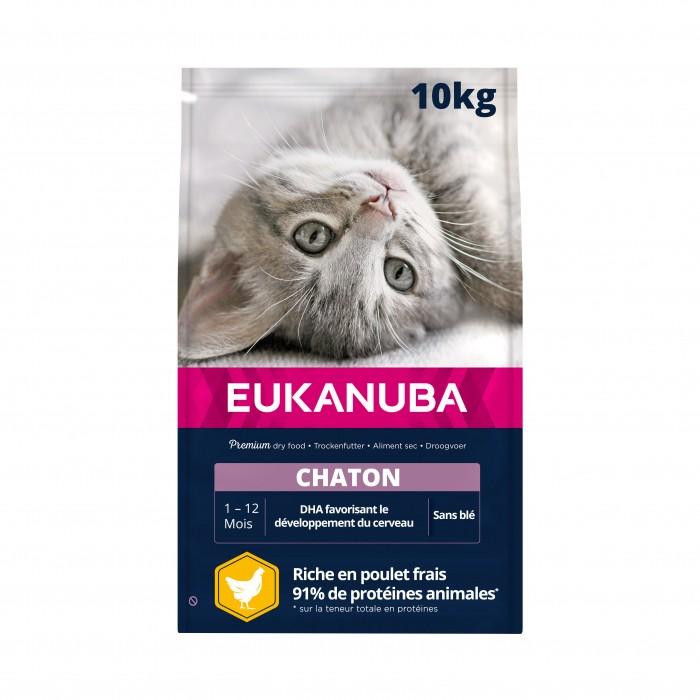 Alimentation pour chat - Eukanuba Kitten Healthy Start pour chats