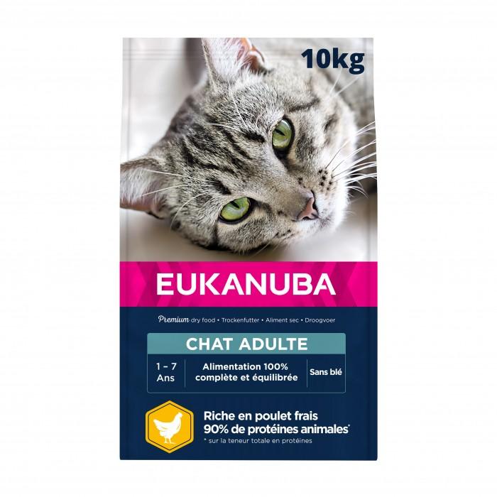 Alimentation pour chat - Eukanuba Adult 1+ Top Condition pour chats