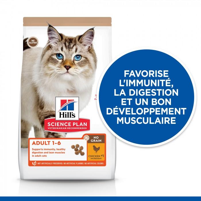 Alimentation pour chat - Hill's Science Plan No Grain Adult pour chats
