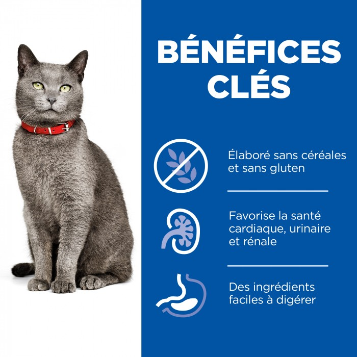 Alimentation pour chat - Hill's Science Plan No Grain Mature Adult 7+ pour chats