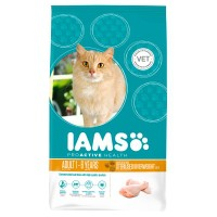Croquettes pour chat - IAMS Adult Light au poulet