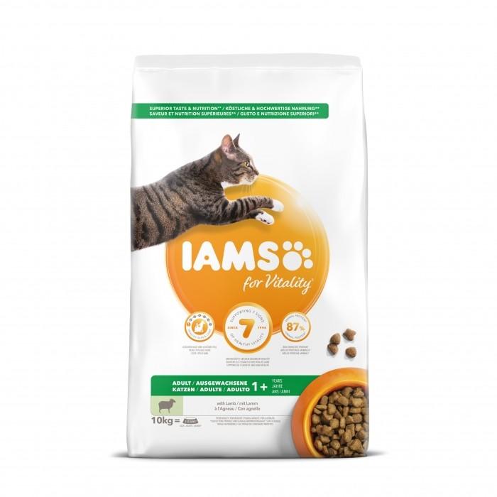 Alimentation pour chat - IAMS Adult au poisson & poulet pour chats
