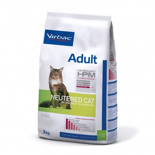 Alimentation pour chat - VIRBAC VETERINARY HPM Physiologique Adult Neutered Cat pour chats