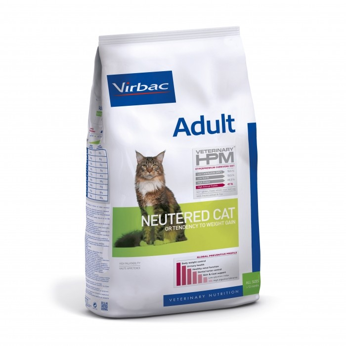 VIRBAC VETERINARY HPM Physiologique Adult Neutered Cat-Adult Neutered Cat