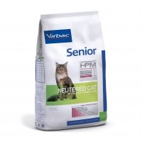 Croquettes pour chat - VIRBAC VETERINARY HPM Physiologique Senior Neutered Cat
