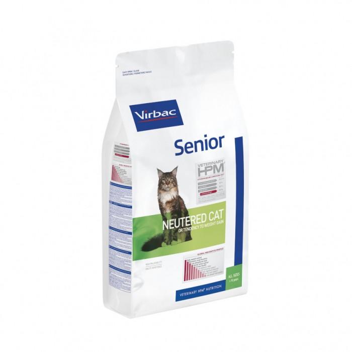 VIRBAC VETERINARY HPM Physiologique Senior Neutered Cat-Senior Neutered Cat