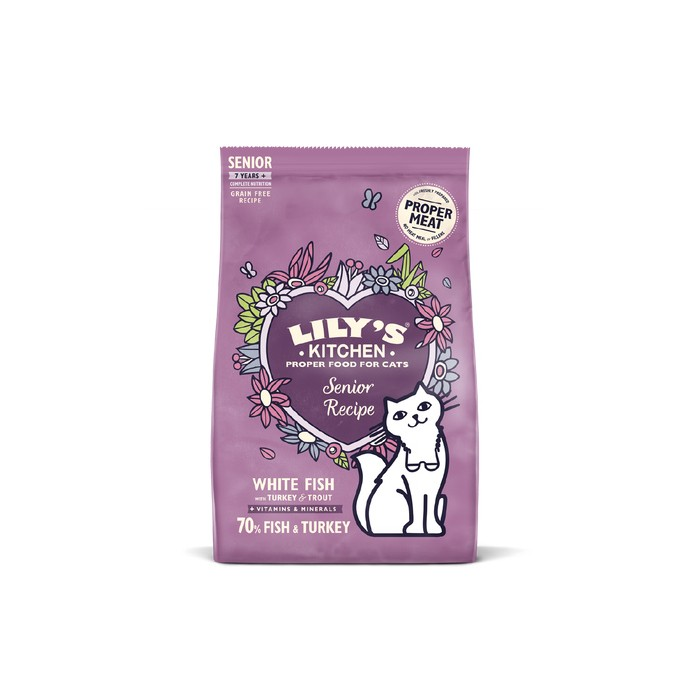 Alimentation pour chat - Lily's Kitchen Senior Sans Céréales pour chats