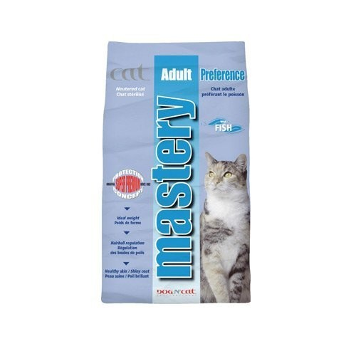 Alimentation pour chat - MASTERY pour chats