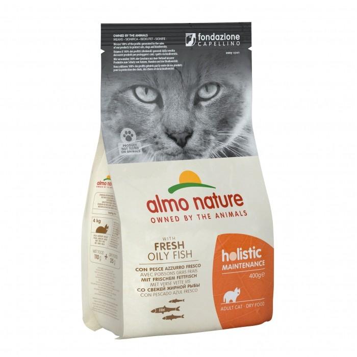 Alimentation pour chat - Almo Nature Holistic Adult - Poisson blanc pour chats
