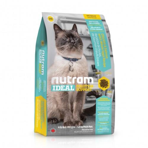 Alimentation pour chat - I19 NUTRAM IDEAL pour chats