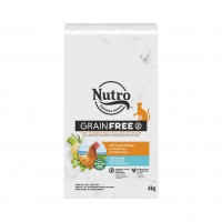 Croquettes pour chat - Nutro Sans Céréales Adulte Stérilisé