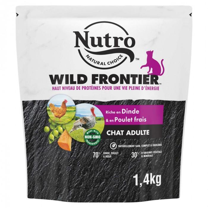 Alimentation pour chat - Nutro Wild Frontier chat adulte à la dinde et au poulet frais pour chats