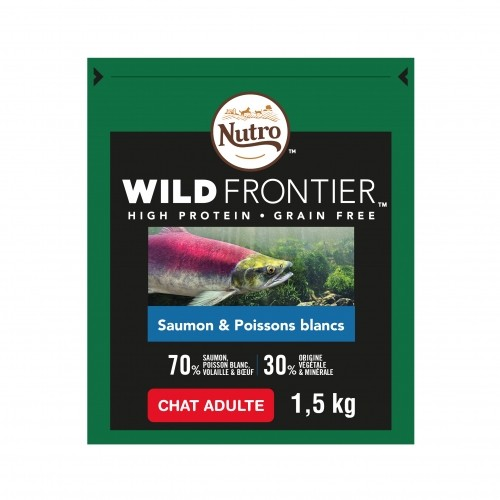 Alimentation pour chat - Nutro Wild Frontier Chat adulte pour chats