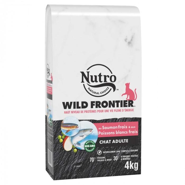 Alimentation pour chat - Nutro Wild Frontier chat adulte au saumon et poissons blancs frais pour chats