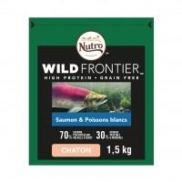 Croquettes pour chaton - Nutro Wild Frontier Chaton