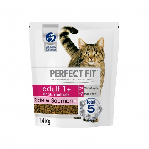 Croquettes pour chat - PERFECT FIT Adult 1+ chats stérilisés
