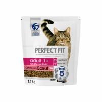 Croquettes pour chat - PERFECT FIT Adult 1+ chats stérilisés Boeuf