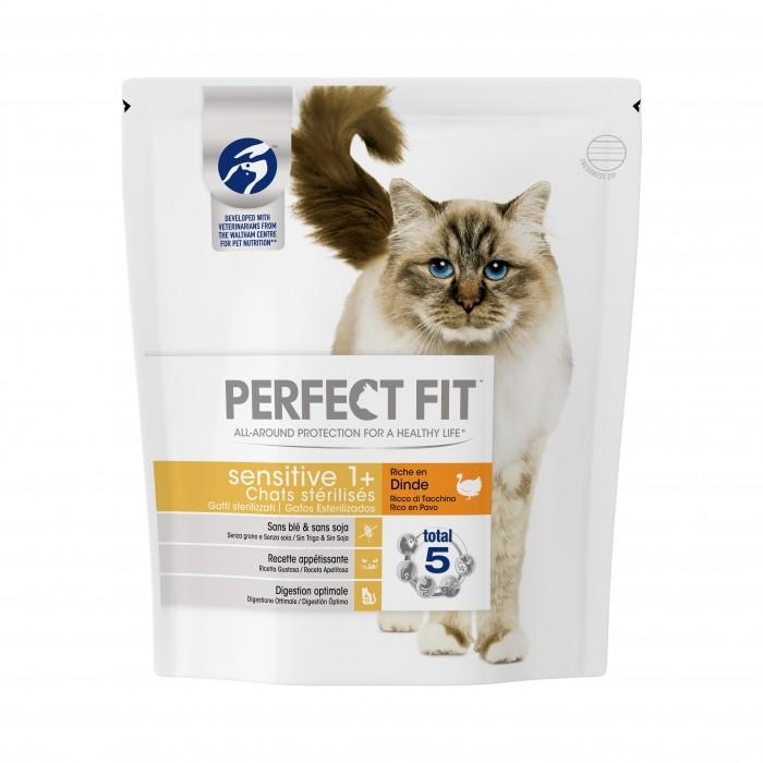 Alimentation pour chat - PERFECT FIT Sensitive 1+ chat stérilisé pour chats