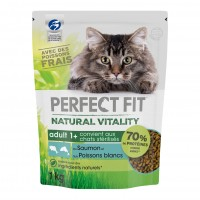 Croquettes pour chat - PERFECT FIT™ Natural Vitality chats adultes - Saumon et poissons blancs PERFECT FIT™