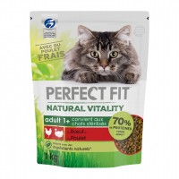 Croquettes pour chat - PERFECT FIT™ Natural Vitality chats adultes - Boeuf et poulet PERFECT FIT™