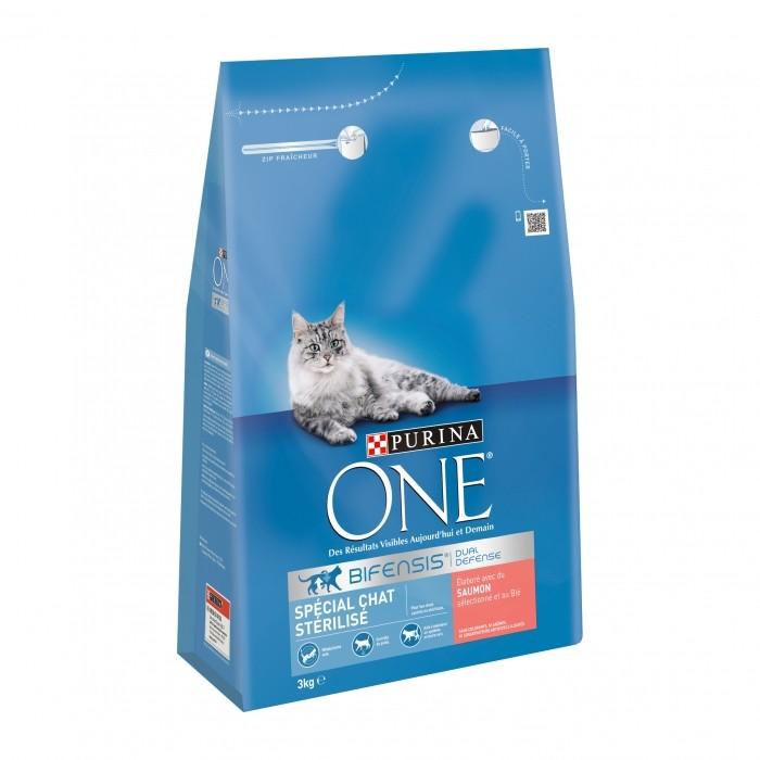 Alimentation pour chat - PURINA ONE Chat Stérilisé pour chats