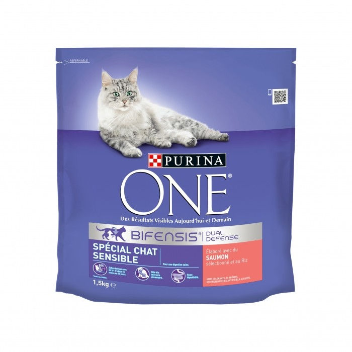 Alimentation pour chat - PURINA ONE Chat Sensible pour chats