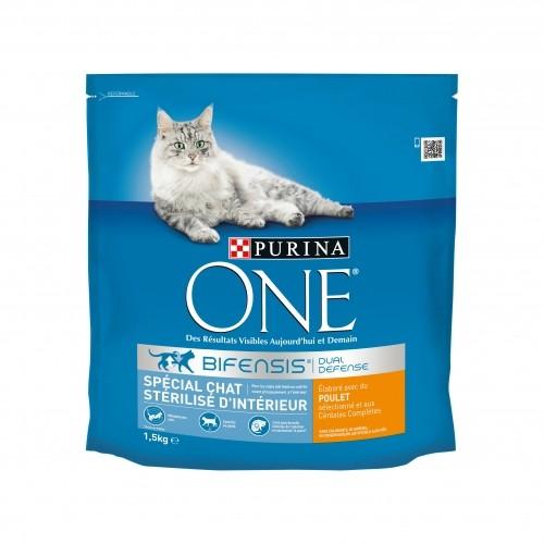 Alimentation pour chat - PURINA ONE Chat Stérilisé d'intérieur pour chats