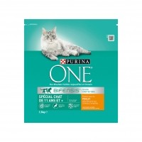 Croquettes pour chat - PURINA ONE Senior 11+