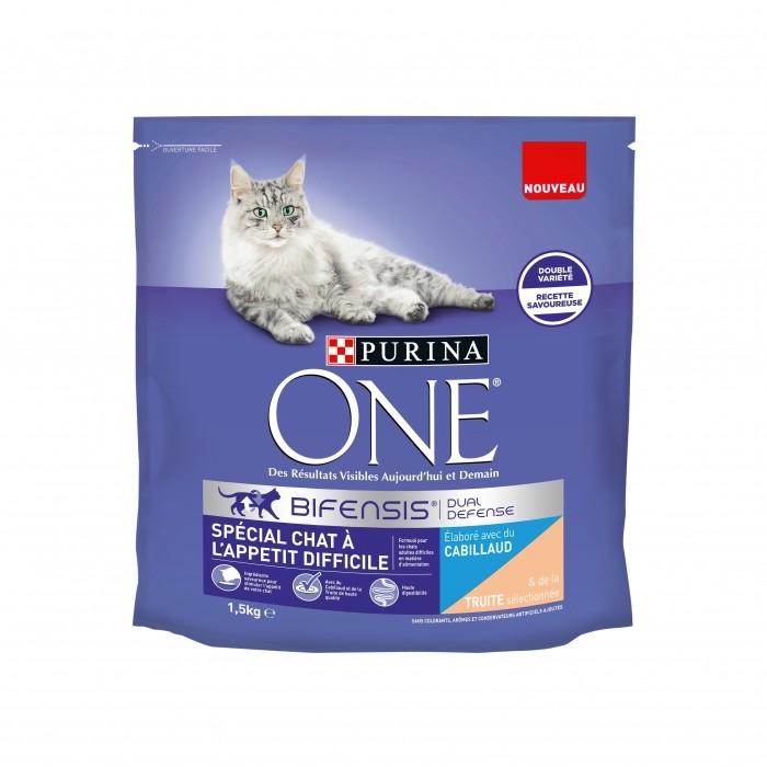 Alimentation pour chat - PURINA ONE Chat à l'appétit difficile pour chats