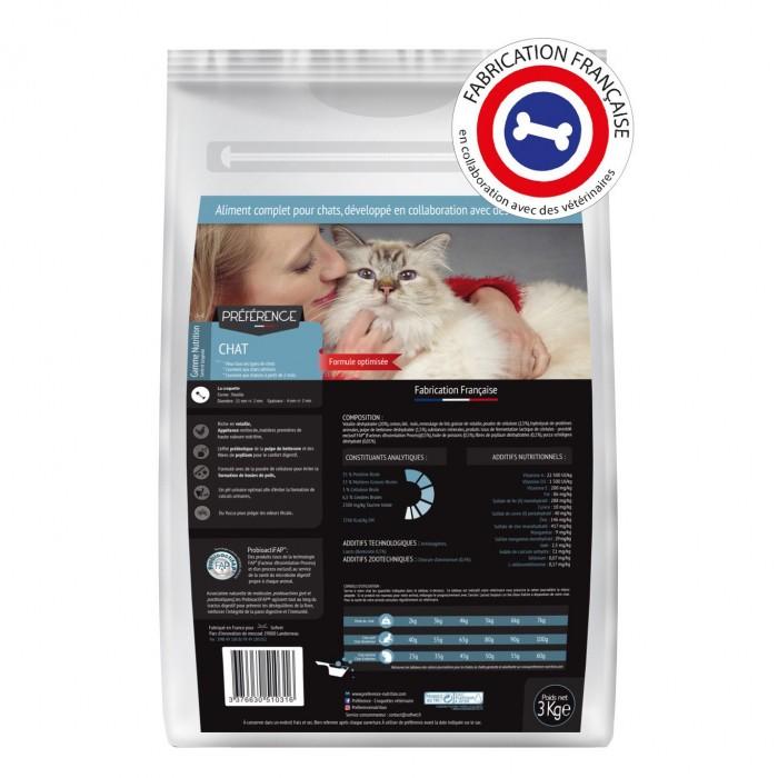Alimentation pour chat - PRÉFÉRENCE NUTRITION Chat pour chats