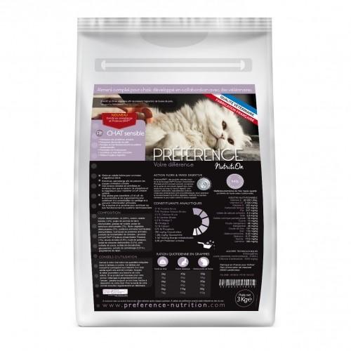 Alimentation pour chat - PRÉFÉRENCE NUTRITION pour chats