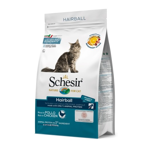 Alimentation pour chat - Schesir Hairball pour chats