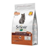 Croquettes pour chat - Schesir  Sterilized & Light