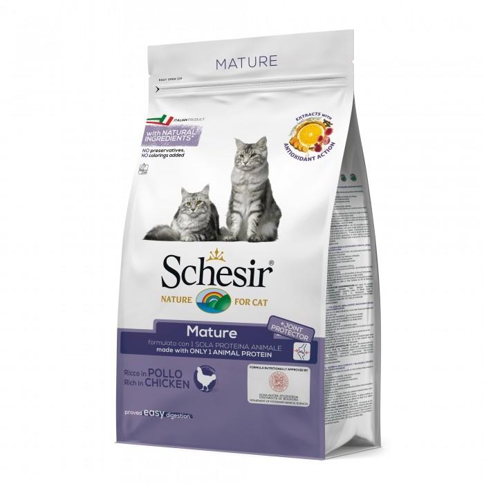 Alimentation pour chat - Schesir Mature pour chats