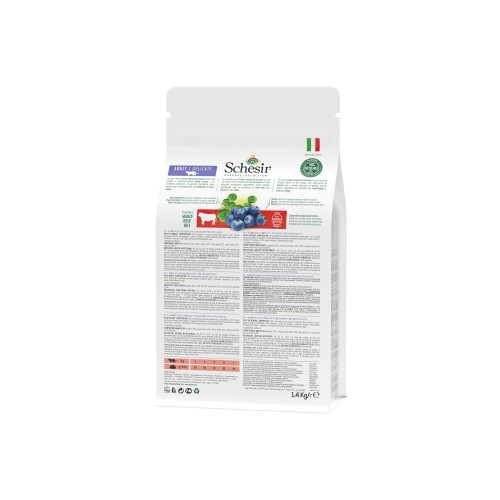 Alimentation pour chat - Schesir Natural Selection Adult Delicate - Boeuf pour chats