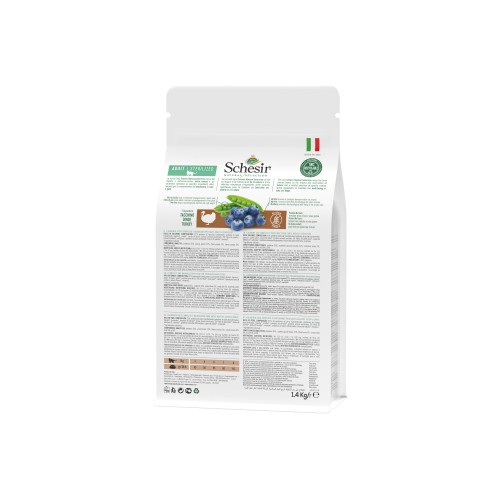 Alimentation pour chat - Schesir Natural Selection Adult Sterilized - Dinde pour chats