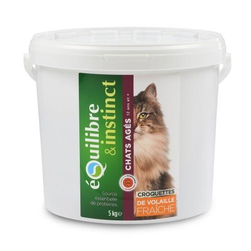 Alimentation pour chat - EQUILIBRE & INSTINCT Senior pour chats