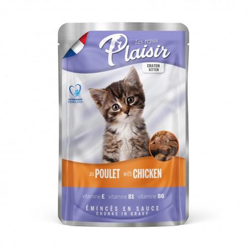 Sachet fraîcheur pour chaton - REPAS PLAISIR Kitten