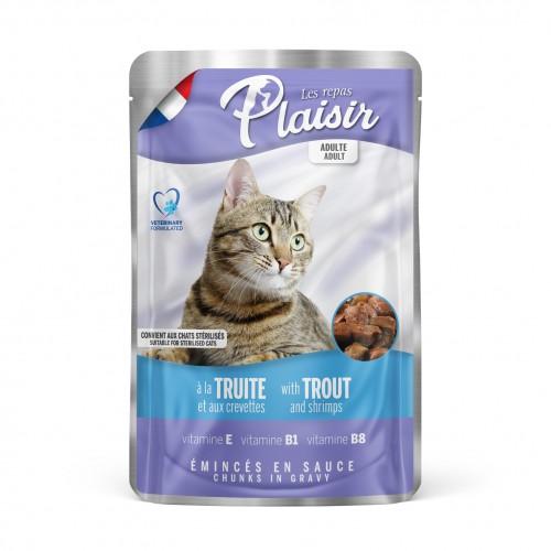 Alimentation pour chat - REPAS PLAISIR pour chats