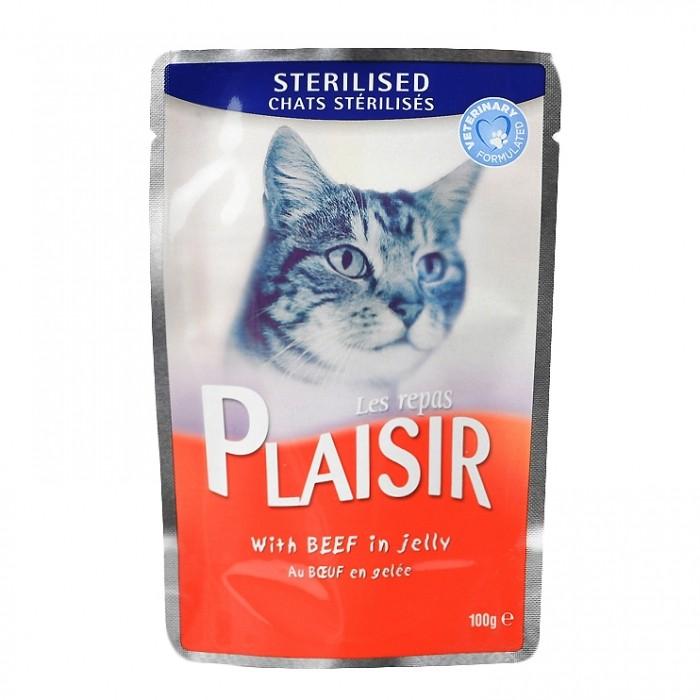 Alimentation pour chat - REPAS PLAISIR Adulte Stérilisé pour chats