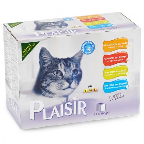 Alimentation pour chat - REPAS PLAISIR Adulte - Multipack pour chats