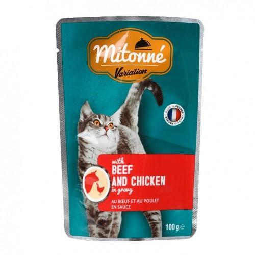 Alimentation pour chat - MITONNE Variation Emincés en sauce pour chats