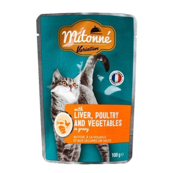 Alimentation pour chat - MITONNE pour chats