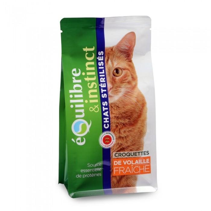 Alimentation pour chat - EQUILIBRE & INSTINCT Adulte Stérilisé pour chats