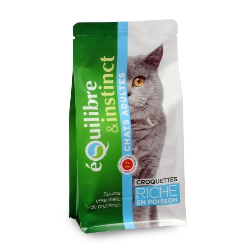 Sélection Made in France - EQUILIBRE & INSTINCT pour chats
