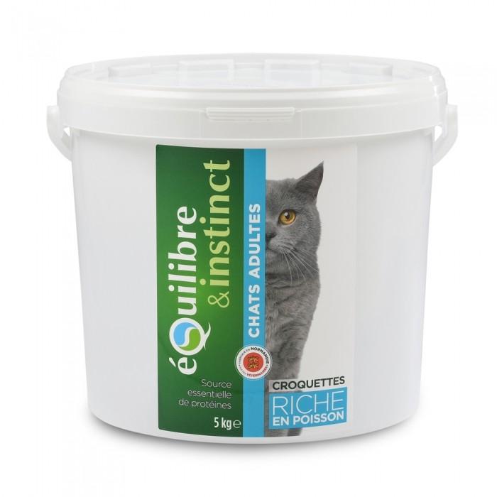 Alimentation pour chat - EQUILIBRE & INSTINCT Adulte Poisson pour chats